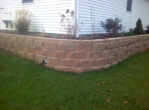 Landscape Block Wall